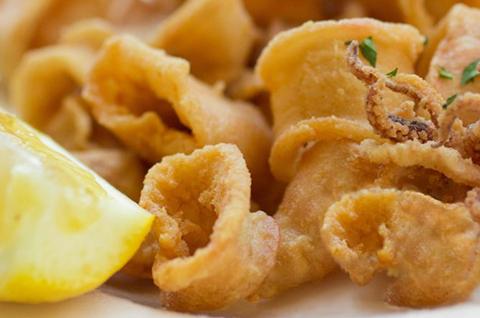 Calamarcitos fritos