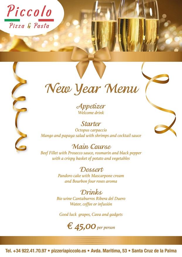 new year's eve dinner in santa cruz de la palma